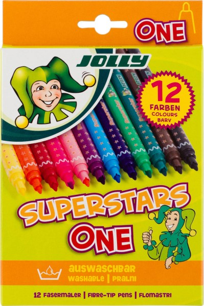 JOLLY Superstar ONE | sortiert | 12er-Kartonetui
