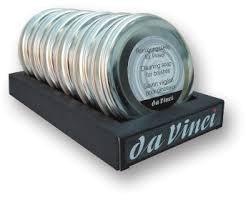 da Vinci Kernseife 4433 | 6 stückweise im Papp - Aufsteller | Serie 4433SET