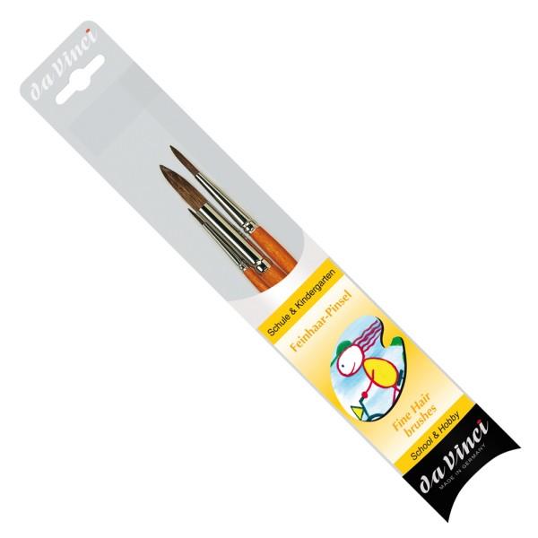 da Vinci Haarpinselset | Serie 4205