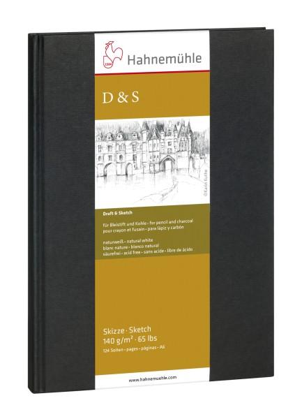 Hahnemühle | Skizzenbücher | Skizzenbuch D&S | schwarz | Fadenheftung