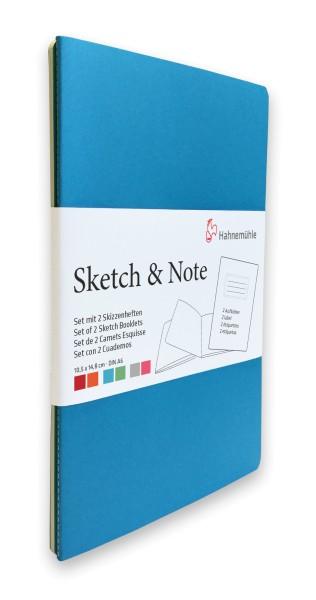 Hahnemühle | Skizzenbücher | Sketch & Note | Blue Bundle
