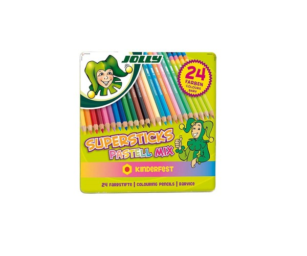 JOLLY Superstick PASTELLMIX | 24er-Metalletui