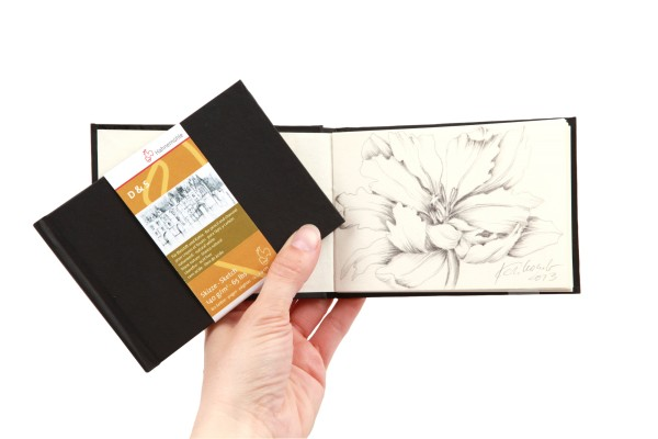 Hahnemühle | Skizzenbücher | Skizzenbuch D&S Mini | schwarz | Fadenheftung