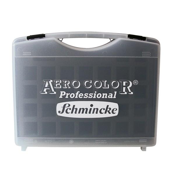 Schmincke Künstlerfarben | Airbrush - Koffer | Leerkasten | für 24 x 28 ml Flaschen
