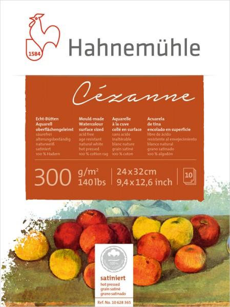 Hahnemühle | Echt-Bütten Aquarellkarton | Cezanne | satiniert