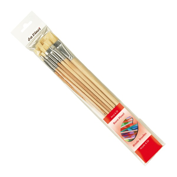 da Vinci Borstpinselset flach | Serie 5293