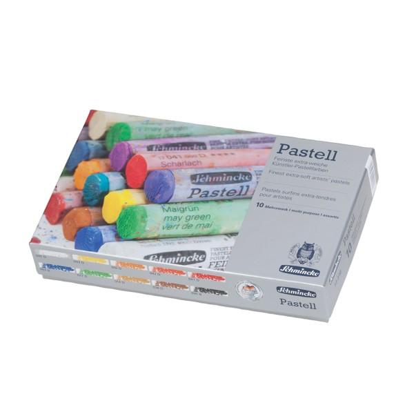 Schmincke Pastellfarbe | Pastell | Kartonset | mit 10 Stifte
