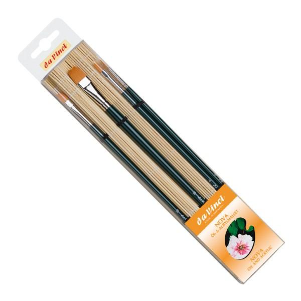 da Vinci NOVA Öl + Acrylset | in Bambusmatte (4019) | Serie 5378