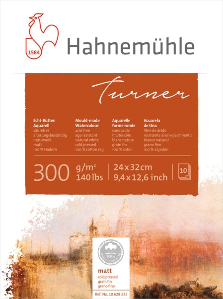 Hahnemühle | Echt-Bütten Aquarellpapier | William Turner