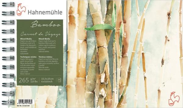 Hahnemühle | Akademie Aquarellkarton | Carnet de Voyage Bamboo | Mixed Media