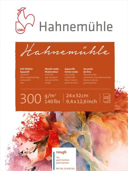 Hahnemühle | Echt-Bütten Aquarellkarton | 300g/m² | rau