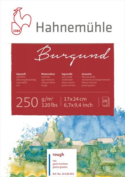Hahnemühle | Akademie Aquarellkarton | Burgund | rau