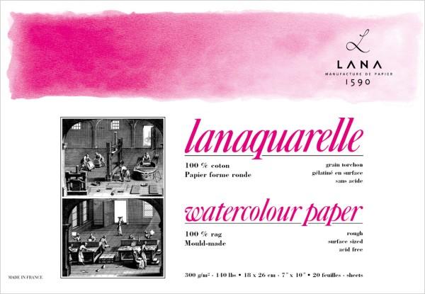 Hahnemühle | Lana Künstlerpapiere | Lanaquarelle | rau