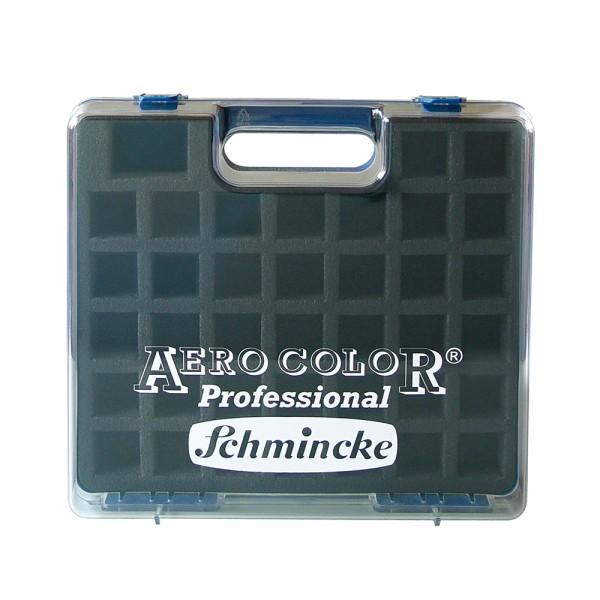Schmincke Künstlerfarben | Airbrush - Koffer | Leerkasten | für 37 x 28 ml Flaschen