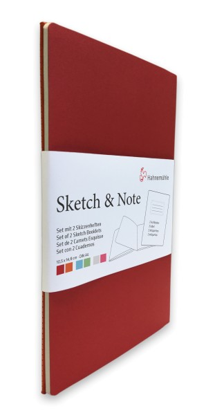 Hahnemühle | Skizzenbücher | Sketch & Note | Red Bundle