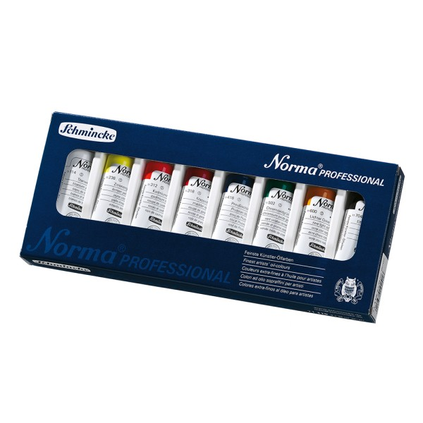 Schmincke Ölfarbe   Norma Professional   Kartonset   8 x 35 ml Tuben