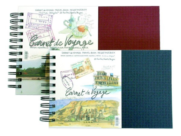 Hahnemühle | Lana Künstlerpapiere | Carnet de Voyage