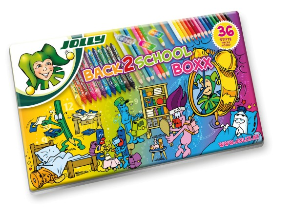 JOLLY Back To School Boxx | 36er-Metalletuui