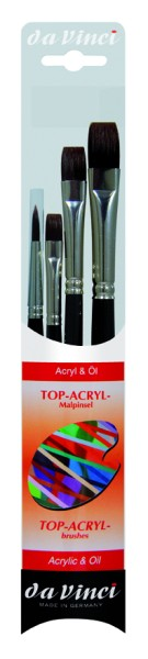 da Vinci TOP - ACRYL | Malpinselset | Serie 4220