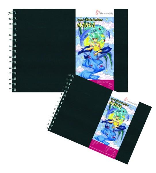 Hahnemühle | Grafik Design | Manga Layout & Illustration | spiralisiert