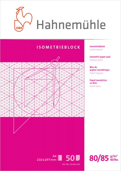 Hahnemühle | Technische Zeichenpapiere | Isometrieblock