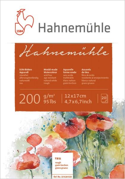 Hahnemühle | Echt-Bütten Aquarellpapier | 200g/m² | rau
