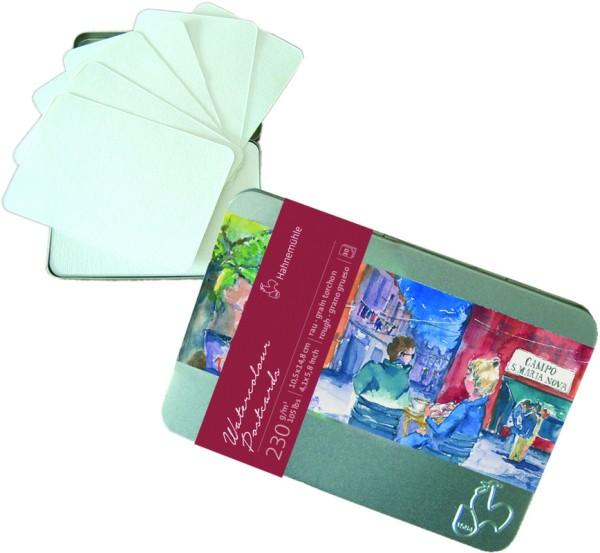 Hahnemühle | Akademie | Aquarell - Postkarten | Burgund