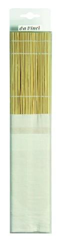 da Vinci Bambusmatte mit Baumwolltasche   Serie 4119