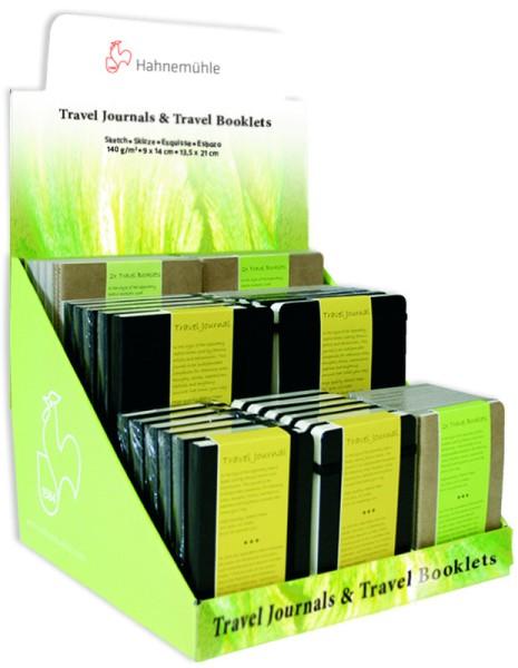 Hahnemühle | Skizzenbücher | Travel Journals & Travel Booklets | Thekendisplay