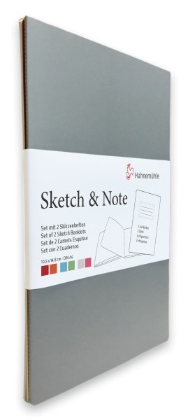 Hahnemühle | Skizzenbücher | Sketch & Note | Grey/Pink Bundle