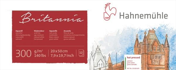 Hahnemühle | Akademie Aquarellkarton | Britannia Panorama | satiniert