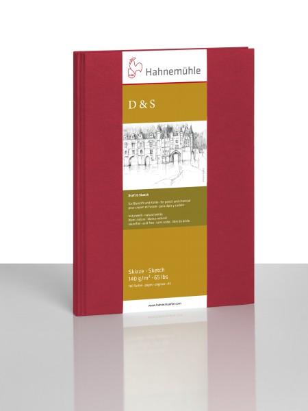 Hahnemühle | Skizzenbücher | Skizzenbuch D&S | rot | Fadenheftung